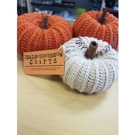 Real Horror Show Crafts Rustic Pumpkin