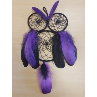 Amie Prescott Owl Dreamcatcher