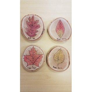 Cinder Crafter Coaster Set