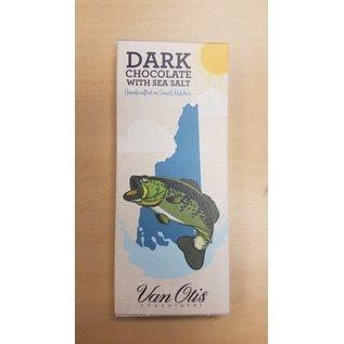 Van Otis Chocolates LLC NH Souvenir Bar: Dark Choc/Sea Alt