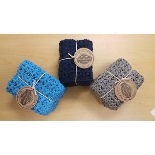 White Mountain Yarnery Crochet Washcloth