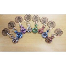 White Mountain Yarnery Crochet Quarter Keeper Key Chain