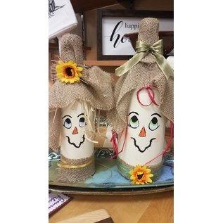 Bumeit Designs Bottle Scarecrow
