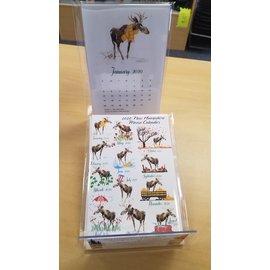 SD Graphics Calendar 2020:Moose