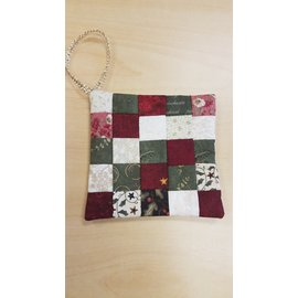 Cynthia Johnson Ornament: Patchwork Quilt