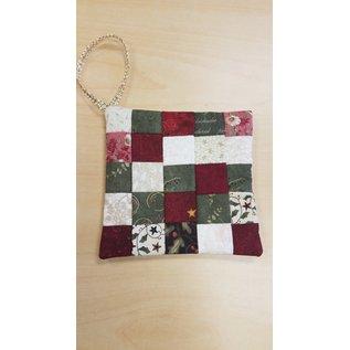 Cynthia Johnson Ornament: Patchwork Quilt