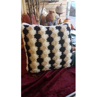 Jessica Hart Crochet Pillow