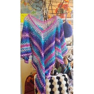Jessica Hart Crochet Shawl/Poncho