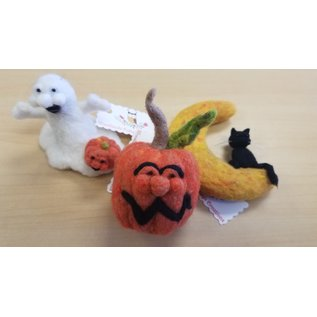 Woodland Cottage Creations Felted Halloween Characters