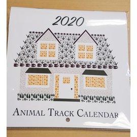 Animal Track Designs Animal Track Calendar
