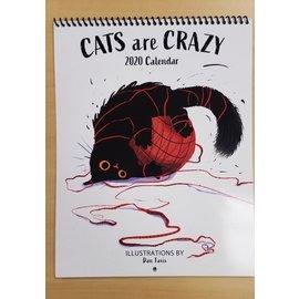 Dan Tavis Calendar: 2020 Cats are Crazy