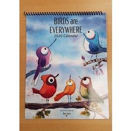 Dan Tavis Calendar: 2020 Birds are Everywhere