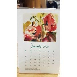 SD Graphics Calendar: 2020 Flowers
