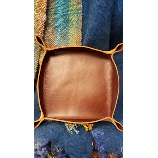 Dogwood Leather Shop Leather Caddy:  Plain