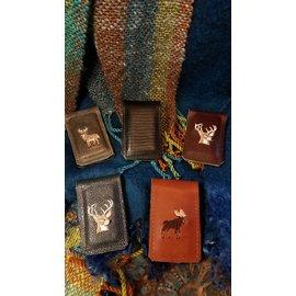 Dogwood Leather Shop Leather Money Clip