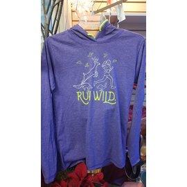 Upper Notch Press Run Wild Ladies Hoodie