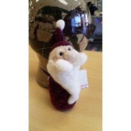 Woodland Cottage Creations Ornament - Santa
