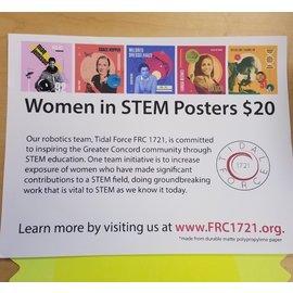 Concord High School Women in Stem Poster