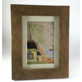 Sandra Griffin Framed Lake Scene
