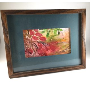 Something Susan Framed Watercolor - Nature at Its Finest