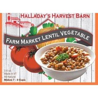 Halladay's Barn Farm Market Lentil Vegetable Soup Mix
