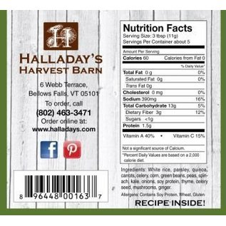 Halladay's Barn Country Chicken Vegetable Soup Mix