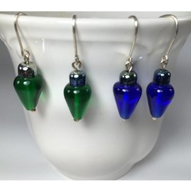 Patty Roy Jewelry Christmas Bulb Earrings