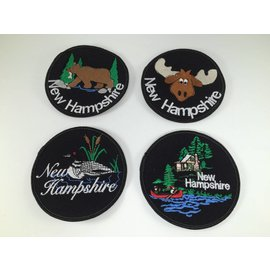 DF Embroidery Embroidered New Hampshire Patches