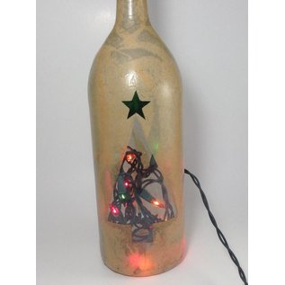 Dragonfly Lighting Christmas Bottle Light
