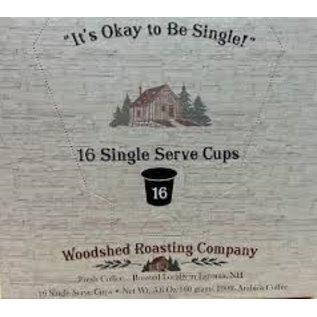 Woodshed Roasting Company WRC Coffee -Single Serve Cups