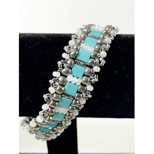Beaded Jewelry 4 U Woven Bead Bracelet
