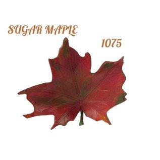 Log Cabin Leather by Jan Leather Sugar Maple Leaf