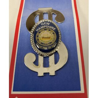 Lindon Associates New Hampshire Souvenir Money Clip