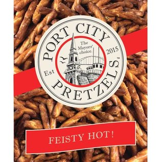 Port City Pretzels Fiesty Hot 8 oz