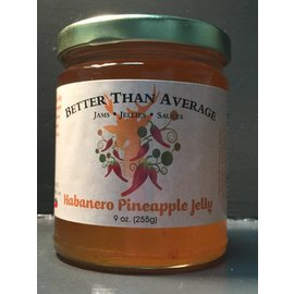Better Than Average LLC Habanero Pineapple Jelly