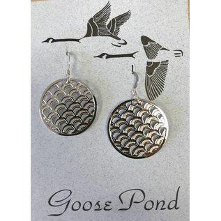 Goose Pond Wave Earrings