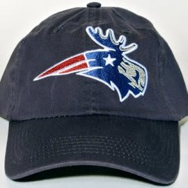 Woods & Sea Patriot Moose Baseball Hat