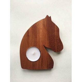 Tim Kierstead Wood Animal Tealight Candle Holder