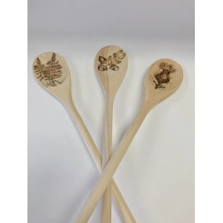 Woodburning By Gail Woodburning Spoon