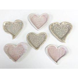Tricia Eisner Pressed Heart Plate