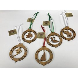 Laserkrafts 2D Wooden Ornament