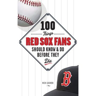 IPG - Independent Publishers Group 100 Things Red Sox Fans Should Know Before They DieBook