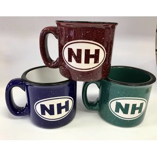 Glass Graphics New Hampshire Camp Mug