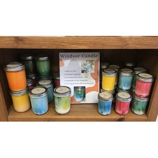 Windsor Candle Soy Canning Jar Candles - 8 oz