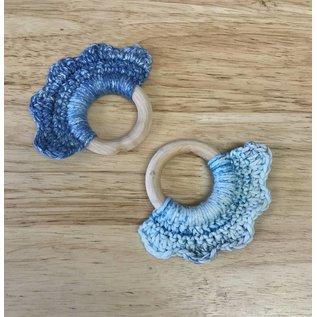 White Mountain Yarnery Baby Teething Ring