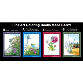 Elaine Farmer Fine Art Coloring Book