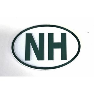 Eastern Illustrating New Hampshire (NH) Rubber Magnet (Euro)