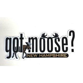Eastern Illustrating Got Moose? New Hampshire Magnet