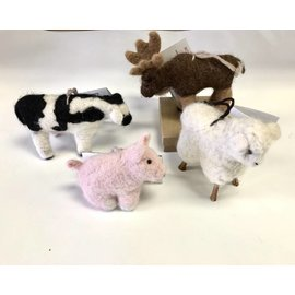 Nodrog Farms Needle Felted Animals