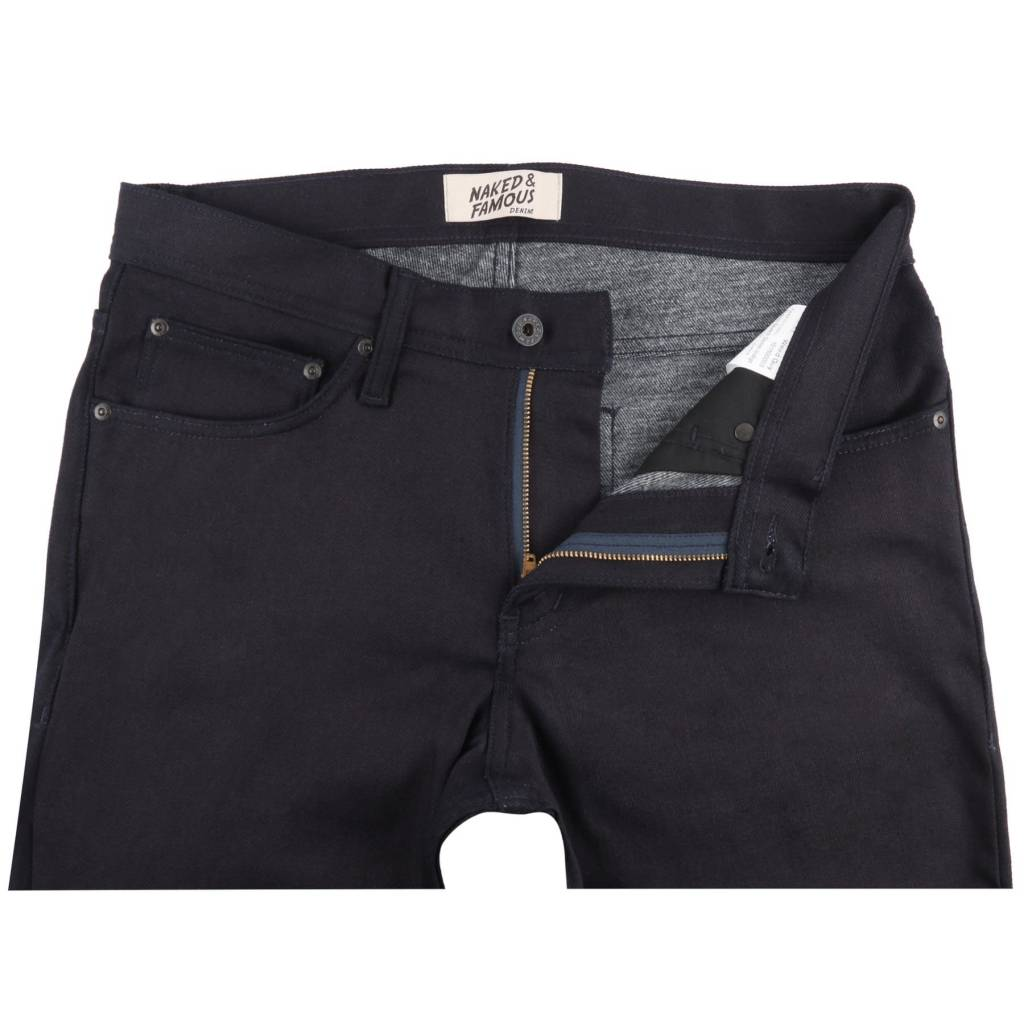 Naked & Famous Weird Guy Thermo Stretch Denim